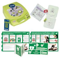 ZOLL AED Plus® Trainer Bundle with AED Signage