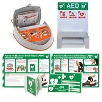 CardiAid Sign & AED Kits with Wall Bracket