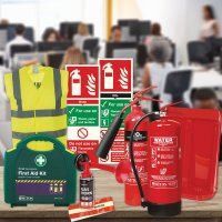 Office Fire Safety Bundle Kit