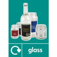 Glass - WRAP Photographic Recycling Signs