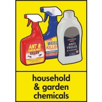 Household & Garden Chemicals - WRAP Photographic Recycling Signs