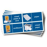 WRAP Photographic Recycling Labels - Paper