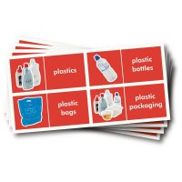 WRAP Photographic Recycling Labels - Plastics