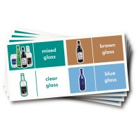 WRAP Recycling Labels - Glass