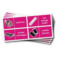 WRAP Photographic Recycling Labels - Electrical