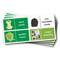 WRAP Photographic Recycling Labels - Household Waste
