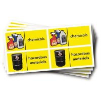 WRAP Photographic Recycling Labels - Hazardous Waste