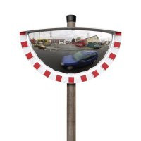 180° Panoramic Traffic Mirror