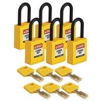 Nylon SafeKey Padlock For Electrical Lockout