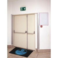 Fire Escape Keep Clear Highly Visible Mats