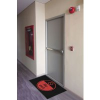 No Exit Highly Visible Mats