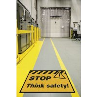 Safety Slogan Carpet Mats