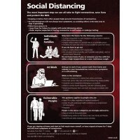 Social Distancing - The Most Important Step We Can All Take Sign