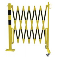 Expanding Trellis Barrier - With Fixing Post and Wheels