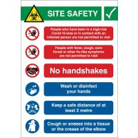 COVID-19 - Site Safety Sign