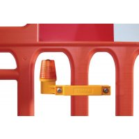 Construction Barrier Safety Light
