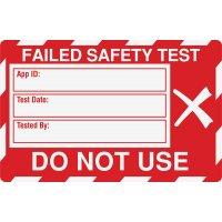 Medium Safety Test Label