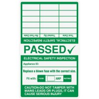 Cable Wrap Multi Year Electrical Safety Inspection Passed Label