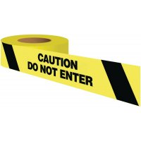 Caution Do Not Enter Warning Tape