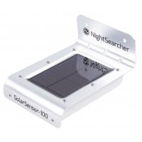Nightsearcher SolarSensor 100 LED Wall Light