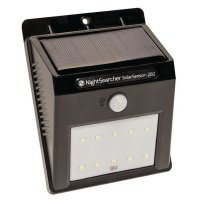 Nightsearcher SolarSensor 200 LED Wall Light