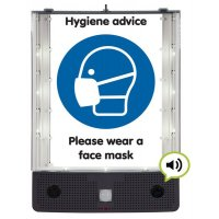 Seton Talking Safety Sign Alerter - Face Mask Sign
