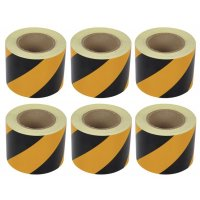 Aisle Marking Chevron Tape (6-Pack)