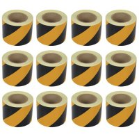Aisle Marking Chevron Tape (12-Pack)