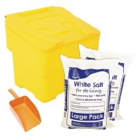 Small Grit Bin and Salt Kit