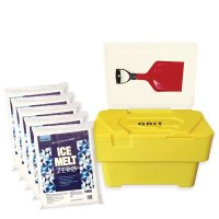 Winter Safety Grit Bin Kit - With Ice Melt