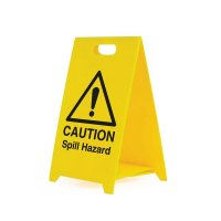 Caution Spill Hazard - Safety Warning 'A' Board