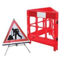 Men at Work - Barrier & Sign Kit