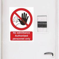 Seton Motion - No Admittance Sign