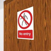 Seton Motion - No Entry Sign