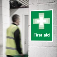 Seton Motion - First Aid Sign