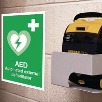 Seton Motion - AED Sign