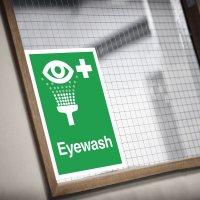Seton Motion - Eyewash Sign