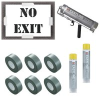 No Exit Stencil Kit