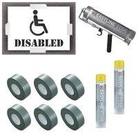 Disabled Stencil Kit