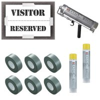 Visitor/Reserved Stencil Kit
