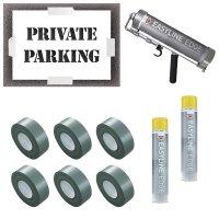 Private Parking Stencil Kit