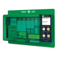 Small Deluxe First Aid Wall Station