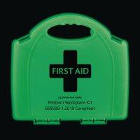 Photoluminescent Workplace First Aid Kits