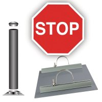 Traffic Sign Installation Kit - STOP Sign