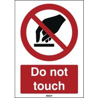 ToughWash - Do Not Touch Sign