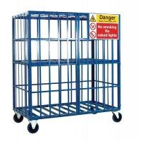 Mobile & Static Cylinder Storage Cages