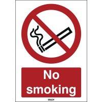 ToughWash - No Smoking Sign
