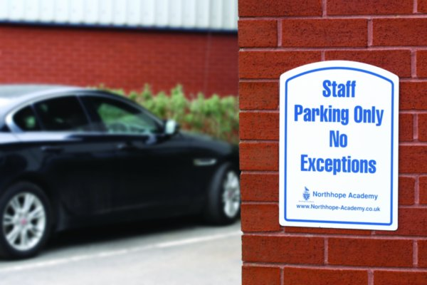 Custom School Premises Signs - Safety Signs