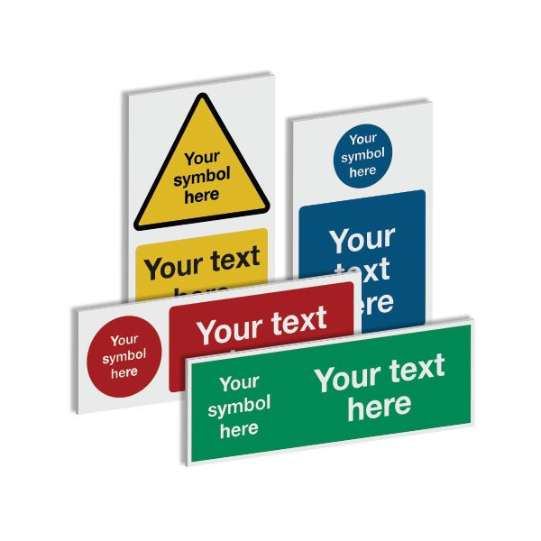 Custom Safety Signs - Fire Exit Signs