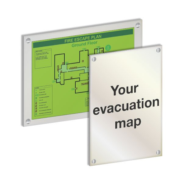 Custom Evacuation Maps - Escape & Evacuation Equipment